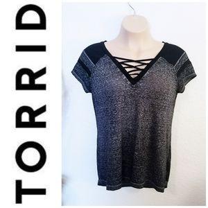 Lattice Tshirt | Torrid | 00 | L